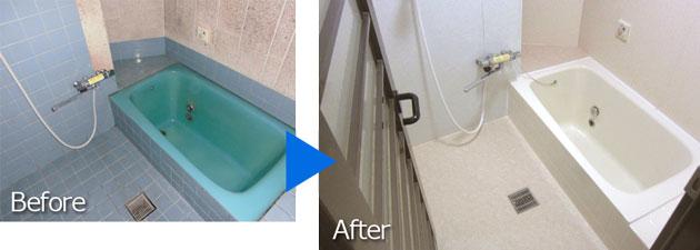 浴室壁面パネル工法